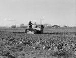 Free Picture of Cultivating a Potato Field