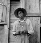 Free Picture of African American Tenant Farmer