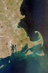 Free Picture of Cape Cod From Space