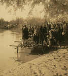 Free Picture of Monks Blessing the Jordan River
