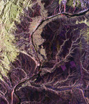 Free Picture of Wenatchee, Washington From Space
