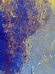 Free Picture of Nile River Delta, Egypt