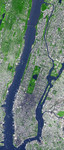 Free Picture of Manhattan From Space