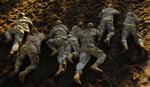 Free Picture of Soldiers Crawling on Ground