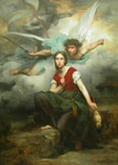 Free Picture of Joan of Arch With Archangel