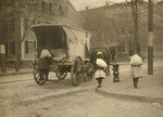 Free Picture of Girls Working on Ice Wagon