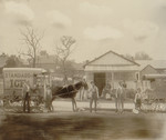 Free Picture of Horse Drawn Ice Wagon