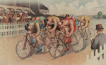 Free Picture of Bicycle Race