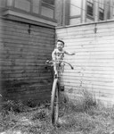 Free Picture of Baby on a Unicycle