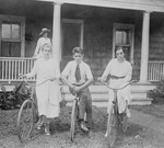 Free Picture of People With Bikes