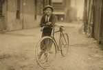 Free Picture of Bicycle Messenger Boy