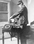 Free Picture of Telegraph Operator