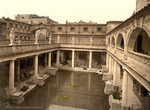 Free Picture of Roman Baths and Abbey