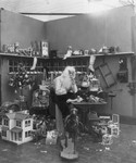 Free Picture of Santa in Workshop