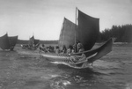 Free Picture of Kwakiutl Indian Canoes