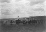 Free Picture of Jicarilla Apaches on Horses