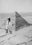 Free Picture of Second Pyramid From the Summit of Great Pyramid