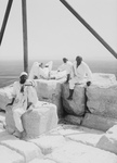 Free Picture of Four Men on the Summit of the Great Pyramid