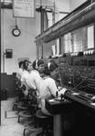 Free Picture of Telephone Operators at Tel Co