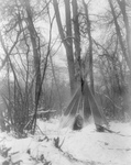 Free Picture of Tipi in Winter