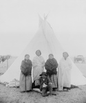 Free Picture of Sitting Bull's Family