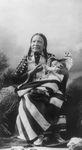 Free Picture of Red Deer, Sioux Indian, With Baby