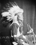 Free Picture of Sioux Indian Man, Chief Lone Bear
