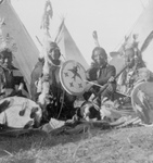 Free Picture of Stock Image: Sioux Indian Men
