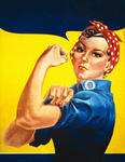 Free Picture of We Can Do It! Rosie the Riveter