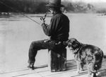 Free Picture of Liquor Detecting Dog During Prohibition