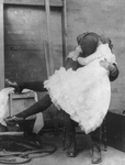 Free Picture of Woman and Man Kissing
