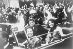 Free Picture of JFK Motorcade on the Day of the Kennedy Assassination