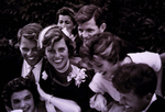 Free Picture of Kennedy Family at the Wedding of John and Jackie