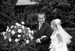 Free Picture of Tricia Nixon With Richard Nixon at Her Wedding