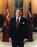Free Picture of Ronald Reagan, 40th American President