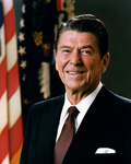 Free Picture of Ronald Reagan, 40th President of the United States