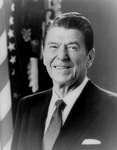 Free Picture of President Ronald Reagan