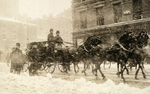 Free Picture of William H Taft and Theodore Roosevelt in Carriage