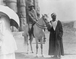 Free Picture of Roosevelt on a Horse in Egypt