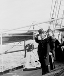 Free Picture of Theodore Roosevelt on a Ship