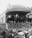 Free Picture of President Roosevelt Speaking From Train
