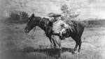 Free Picture of Theodore Roosevelt Beside a Horse