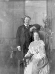Free Picture of Theodore Roosevelt and Edith Kermit Carow
