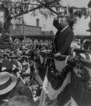 Free Picture of Roosevelt Delivering a Speech