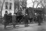 Free Picture of Theodore Roosevelt in Carriage