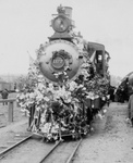 Free Picture of Flower Covered Train