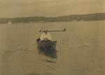 Free Picture of Theodore Roosevelt in a Boat