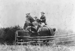 Free Picture of Roosevelt and Capt Fitzhugh on Horses
