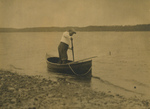 Free Picture of Roosevelt in a Rowboat