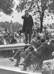 Free Picture of Roosevelt Giving a Speech